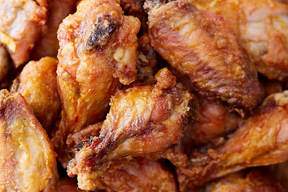 Extra Crispy Baked Chicken Wings