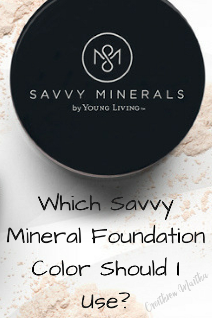 Which Savvy Mineral Foundation Should I Use? #nontoxicbeauty #mineralmakeup #naturalbeauty