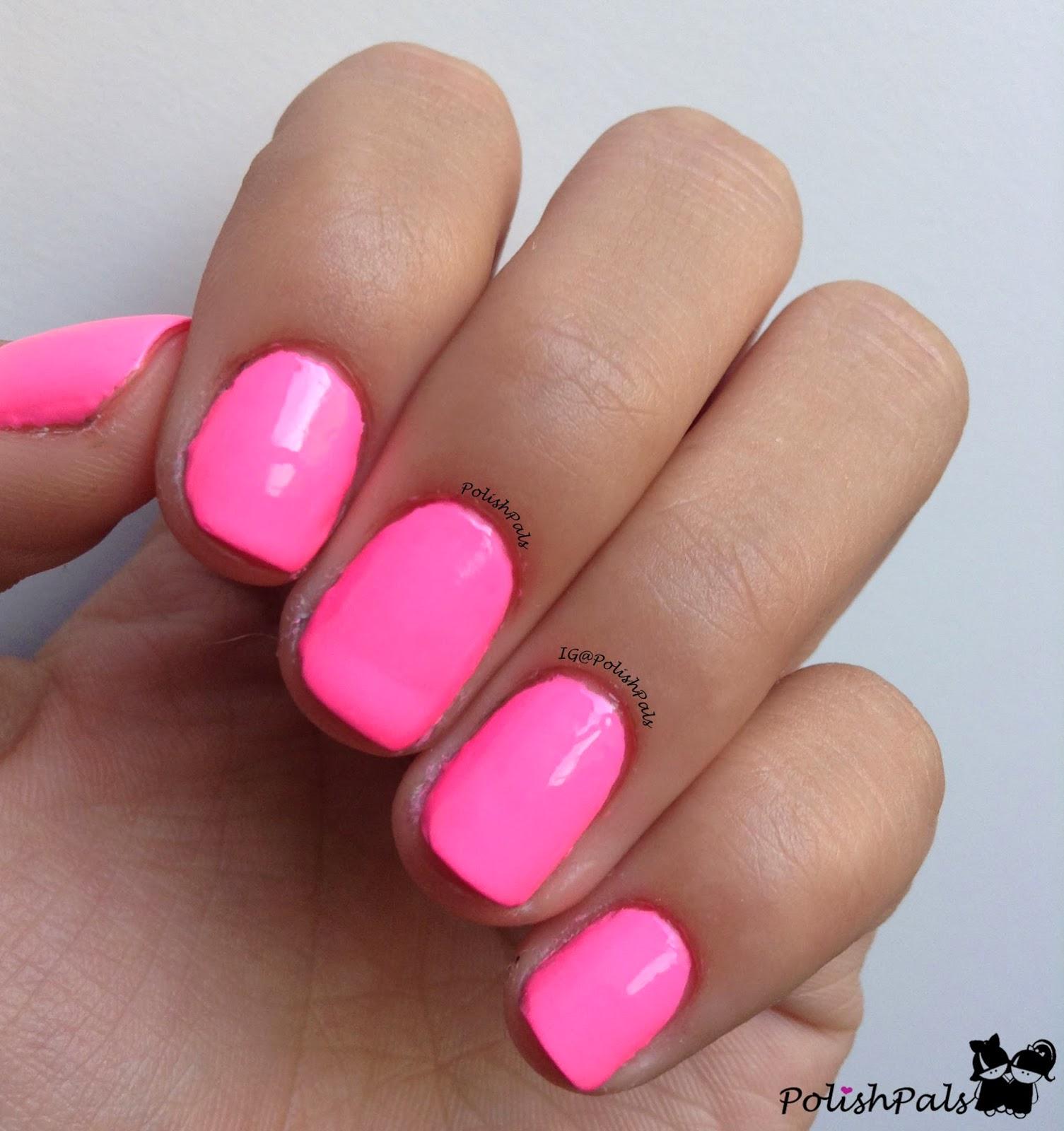 Pink And Blue Nail Polish: Polish Pals: Fuchsia Rage By Nina Ultra Pro