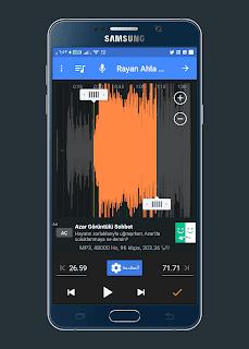 تحميل برنامج قص الاغاني بالعربي | لجعلها نغمات رنين للهاتف والمكالمات بضغطة زر