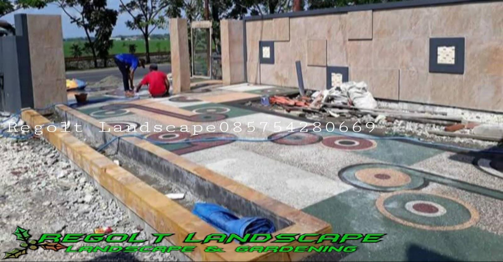 Jasa Pemasangan Batu Sikat Lantai Carport Di Bekasi