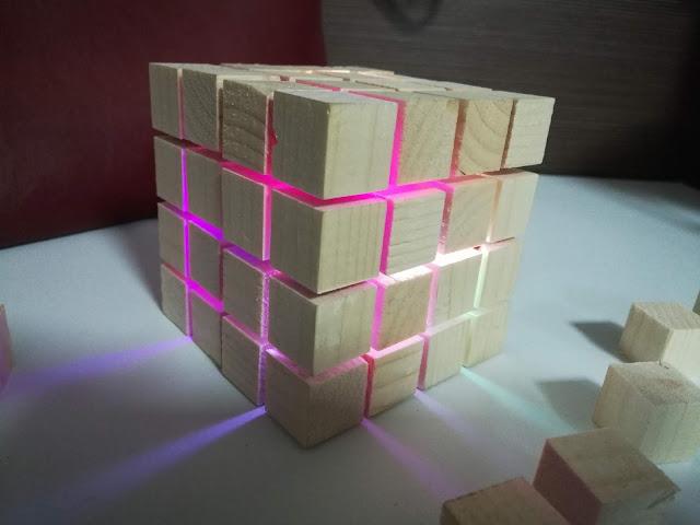 sound reactive cube