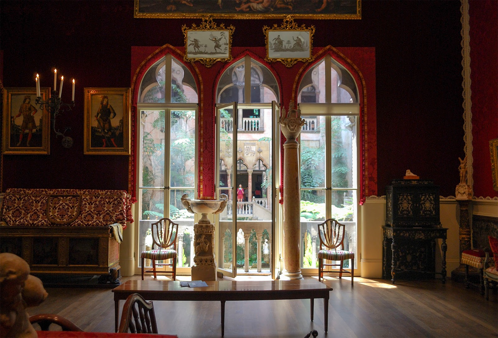 isabella stewart gardner museum venetian palace boston itinerary plan guide tourism usa america park east coast