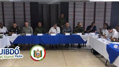 Ministro de defensa, Gobernador y Alcalde hacen importantes anuncios para devolverle la tranquilidad a Quibdó y el Chocó.