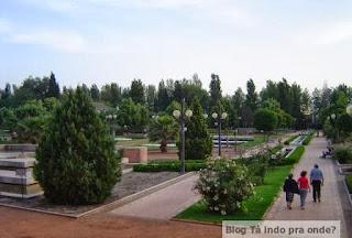 Parque Garcia Lorca - Granada
