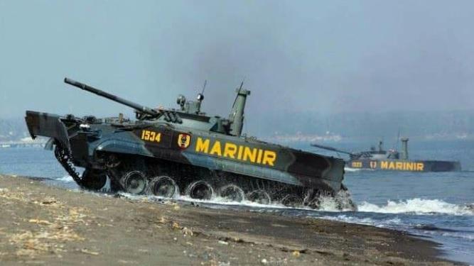 2.000 Pasukan TNI Bergeser dari Pulau Jawa ke Natuna Kepulauan Riau