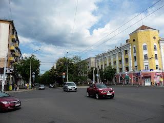 Черкассы. Бульвар Шевченко