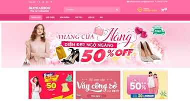 Thiết kế website bán hàng thời trang nữ giá rẻ