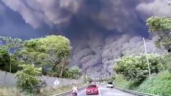 Alerta por incremento de actividad del Volcán de Fuego de Guatemala