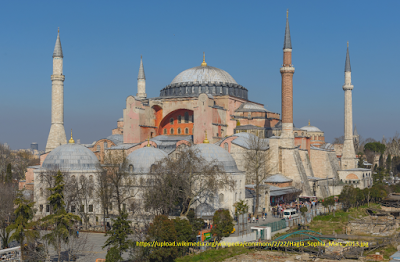 Wisata Istanbul - Hagia Sophia