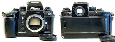 Nikon F4 with MB-20 Grip #695