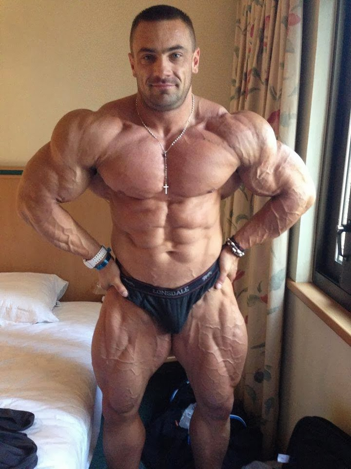 Muscle Lover: Czech bodybuilder Tomas Kaspar (PART 2)