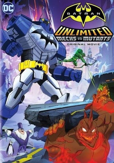 Batman Unlimited: Máquinas vs. Monstruos [Audio Castellano] [Película] [MEGA]