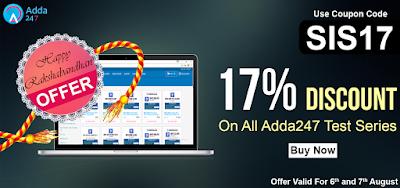 Get Flat 17% Off on All ADDA247 Test Series!!