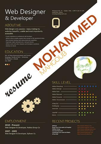 badgercareerbuzz the infographic resume a creative way to stand