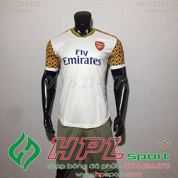 Áo bóng đá training Arsenal màu trắng 2020