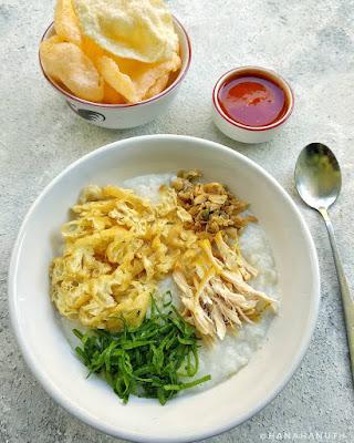 bubur ayam - menu sarapan praktis
