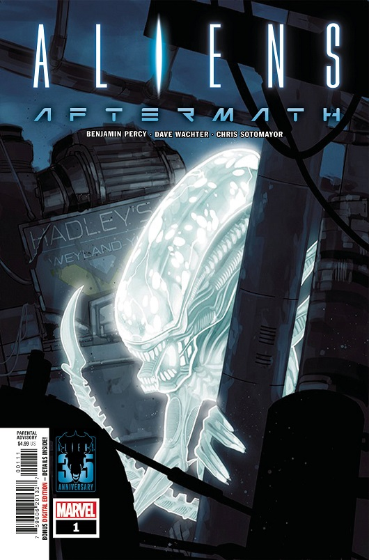 Cover of Aliens: Aftermath #1