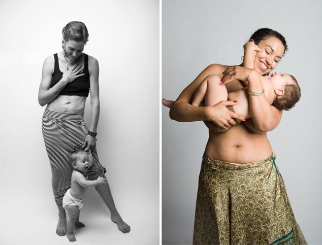 This Mom's Photo Series Highlights the Beauty of Postpartum Bodies
