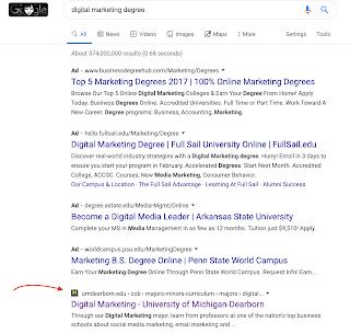 digital marketing degree at the University of Michigan - Dearborn was one of Michigan's first undergraduate digital marketing programs.