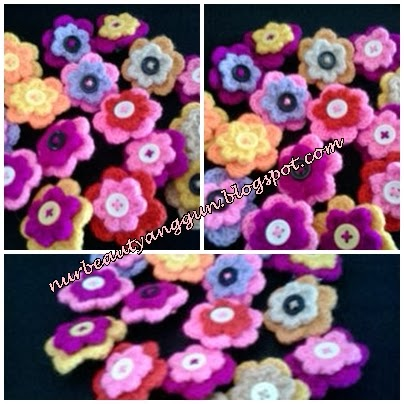 Brooch Double Color.... design terbaru nurbeautyanggun!