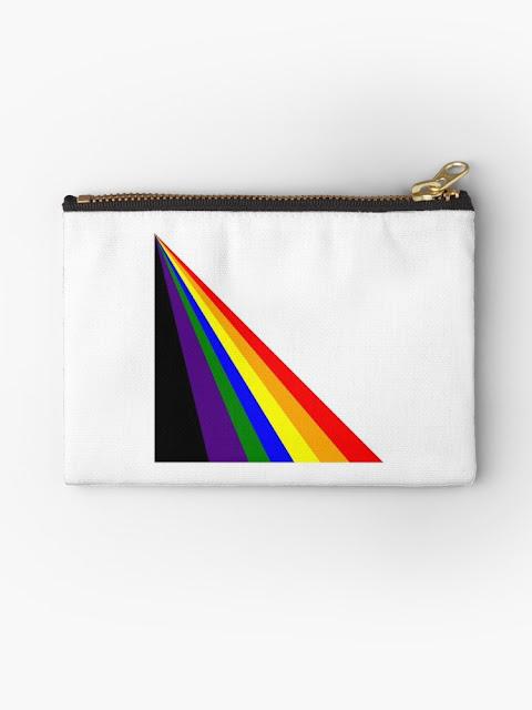 Cyber Rainbow Studio Pouch