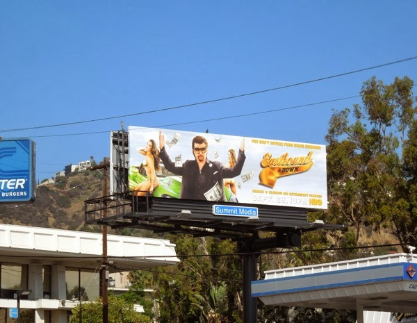 Eastbound and Down season 4 billboard