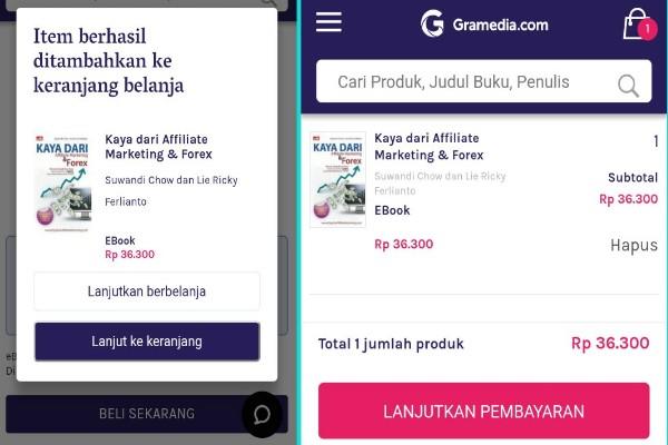 Cara Membeli Buku Di Gramedia Via Online