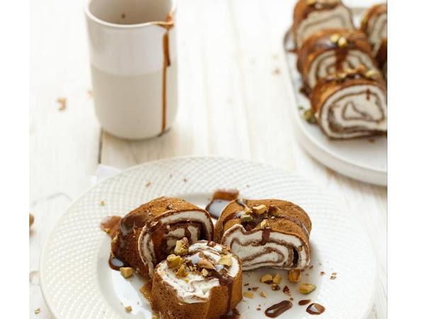Рецепт шоколадных блинов со сливочной начинкой