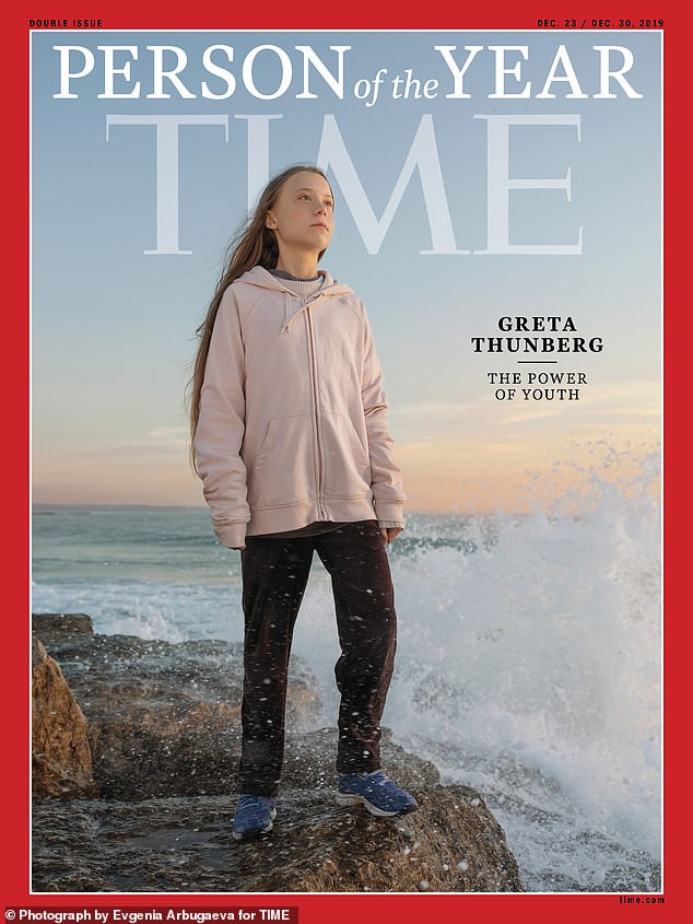 16-year-old climate activist Greta Thunberg named Time's 2019 Person of the Year