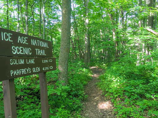 Ice Age Trail Sauk Point Segment