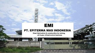 Lowongan Kerja Cikarang Via Email PT. Epiterma Mas Indonesia (EMI)