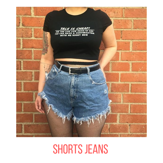 5 LOOKS  SIMPLES COM SHORTS JEANS