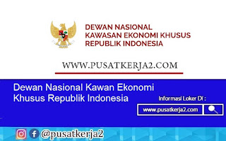 Lowongan Kerja Medan SMA SMK D3 S1 Agustus 2020 Dewan Nasional Kawan Ekonomi Khusus Republik Indonesia