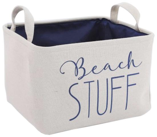 Beach Stuff Storage Bin