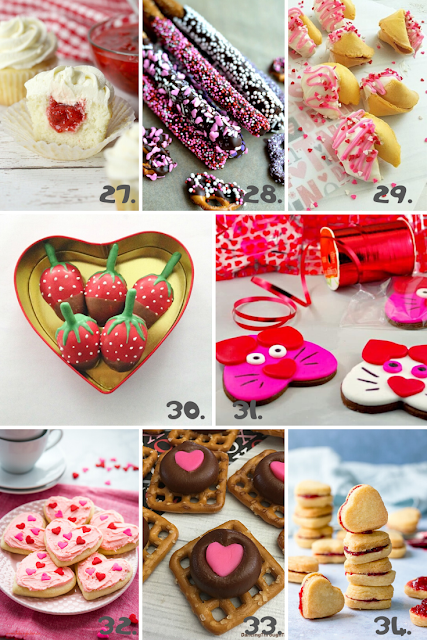 Valentine's Day Treats For Your Next Valentine's Day Party