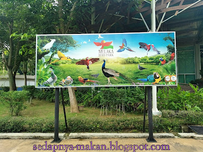 Taman Burung, Air Keroh Melaka ( Melaka Bird Park)