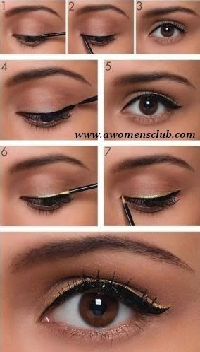 WOMEN'S EYE APPLY PHOTOS