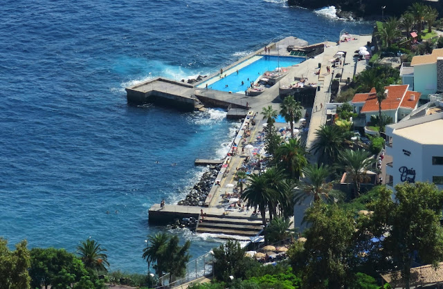 a different perspective of the Funchal Naval Club