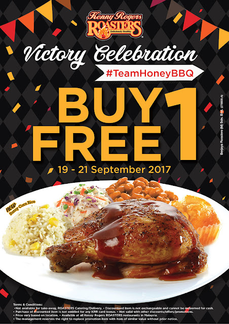 KRR Buy 1 FREE 1 Victory Meal