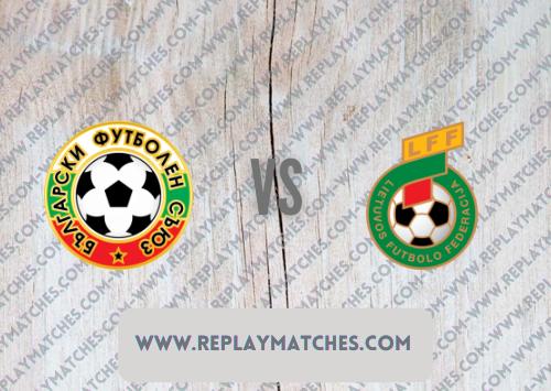 Bulgaria vs Lithuania -Highlights 05 September 2021