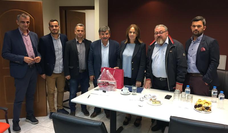Επίσκεψη της Υφυπουργού Οικονομικών Κ. Παπανάτσιου στο Π.Τ. Θράκης του Οικονομικού Επιμελητηρίου Ελλάδας