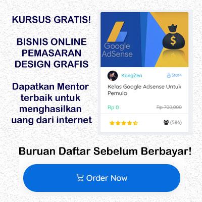 kursus bisnis online gratis