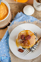 Pancakes z puree z dyni