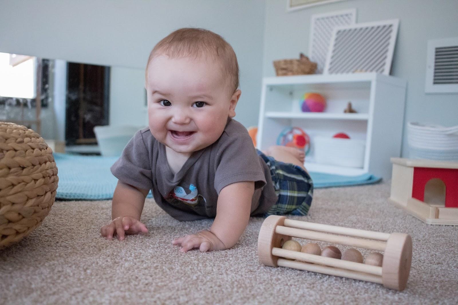 Moving, Moving -- Montessori Baby Week 33