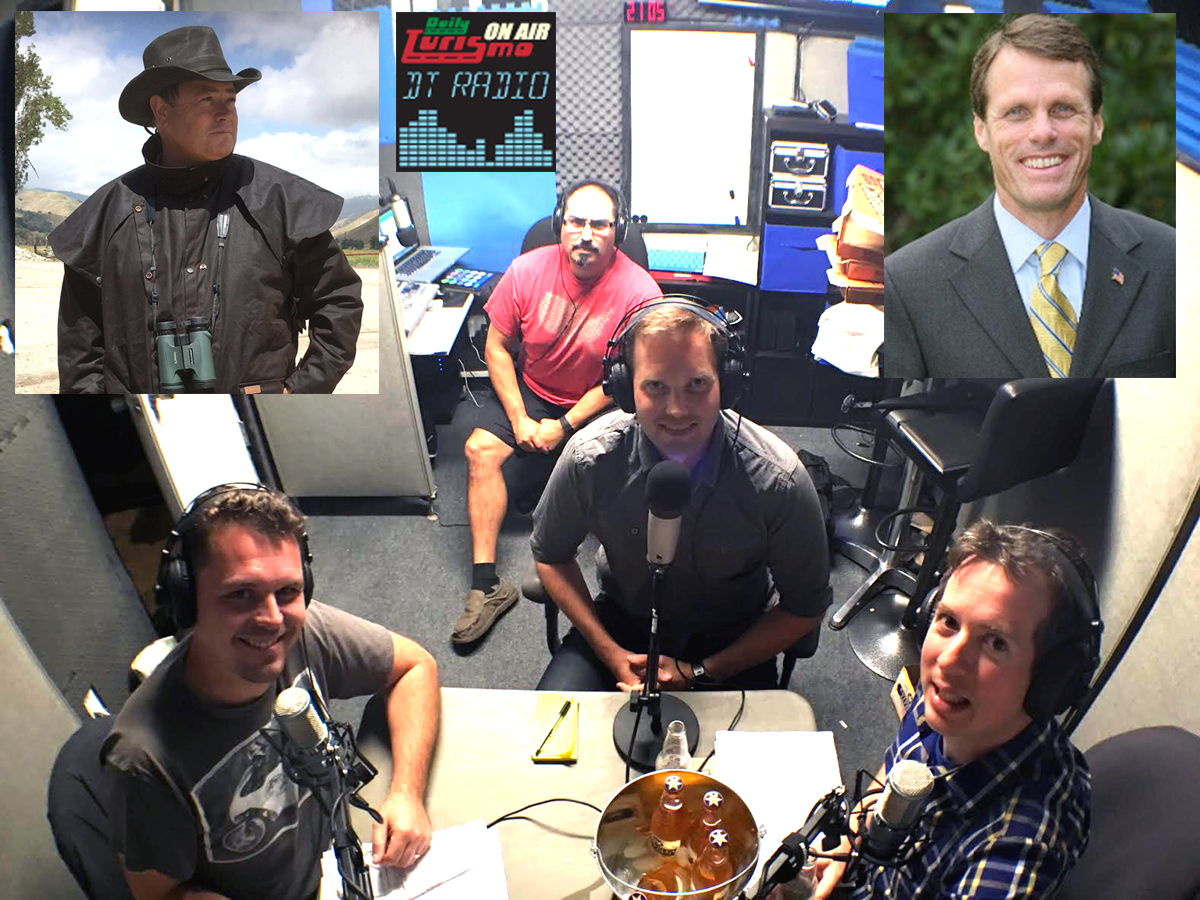 DT Radio Show Ep 19: Carl Rydquist, Mike Brewer, Sen Ted Gaines
