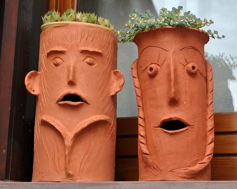 Gartendeko Terrakotta