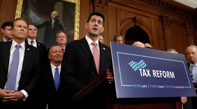 Davos CEOs' optimism booms on Trump tax cuts