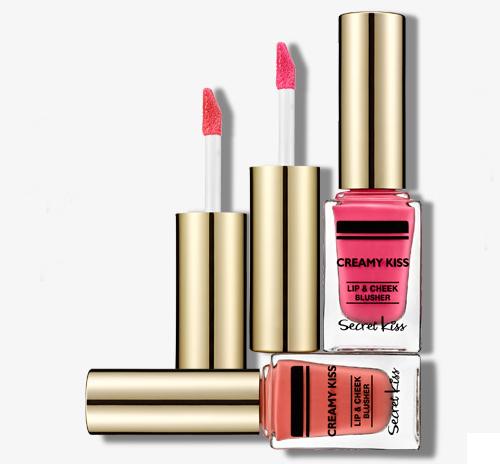Creamy Kiss Lip & Cheek Blusher