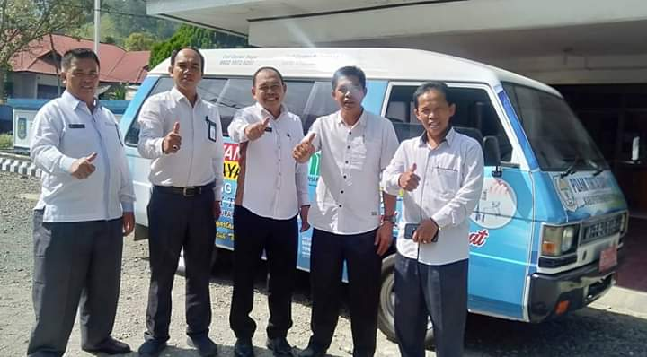 PDAM Tirta Sakti Luncurkan Mobil Pelayanan